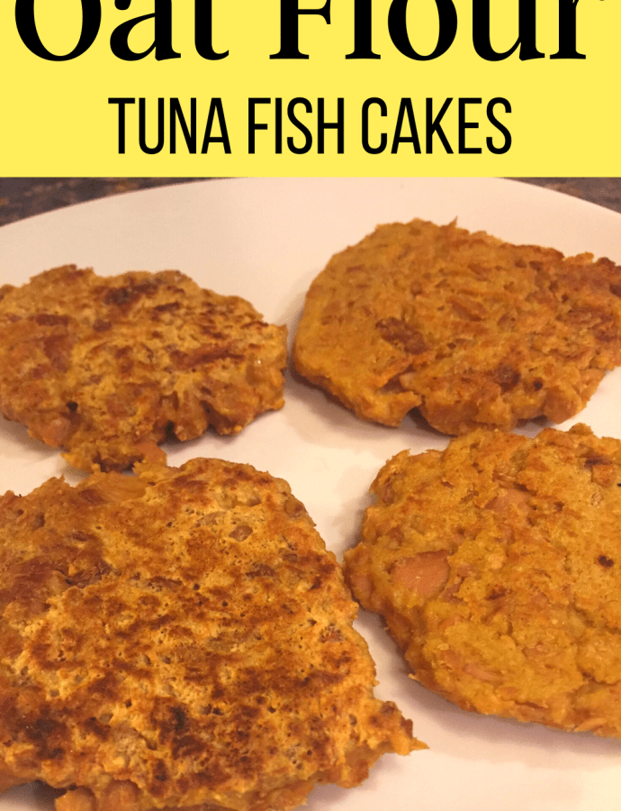 Oat Flour Tuna Fish Cakes Recipe