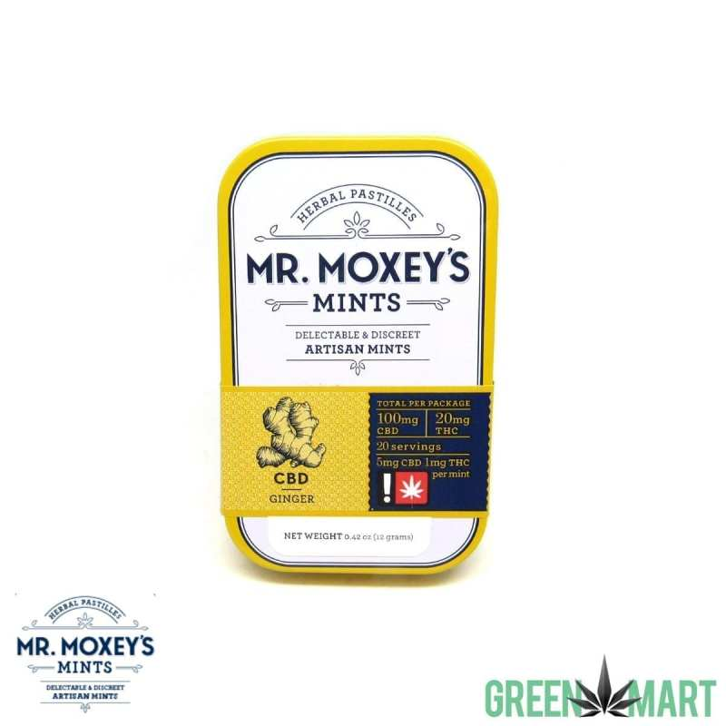Mr. Moxey's Mints CBD Ginger
