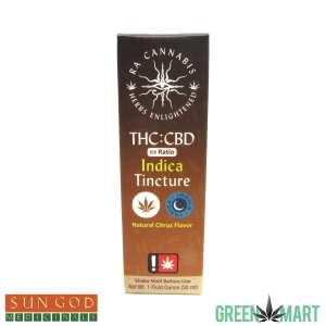 Ra Cannabis 1:1 Indica Tincture
