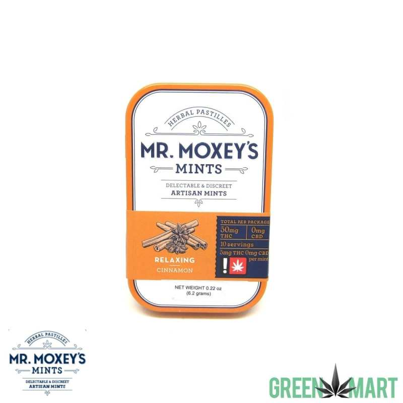 Mr. Moxey's Mints Relaxing Cinammon