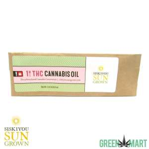 Siskiyou Sungrown THC Cannabis Oil RSO