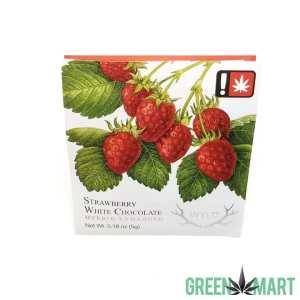 Wyld Strawberry Hybrid White Chocolate Single