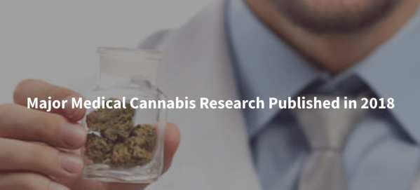 Major Medical Cannabis Research Published in 2018