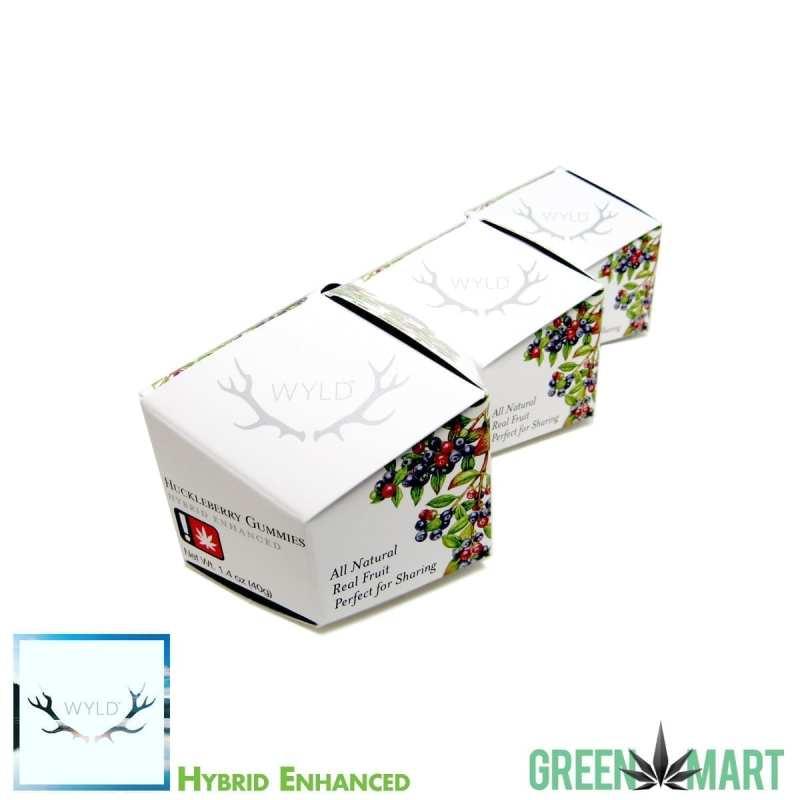 Wyld Hybrid Enhanced Huckleberry Gummies