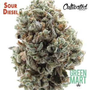 Sour Diesel by Cultivated