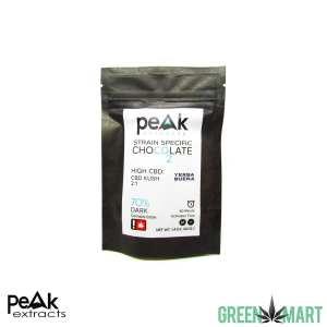Peak Extracts CBD Dark Chocolate - CBD Kush 2to1