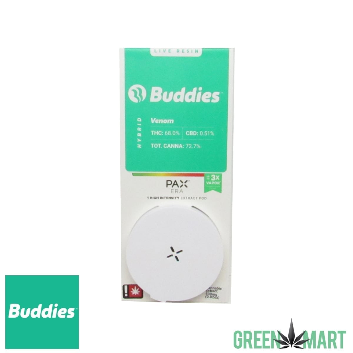 Buddies Brand Pax Pod – Venom