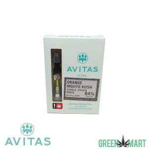 Avitas Ultra Distillate Cartridge - OrangeMojitoKush