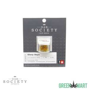 Dab Society Extracts - Glory Days