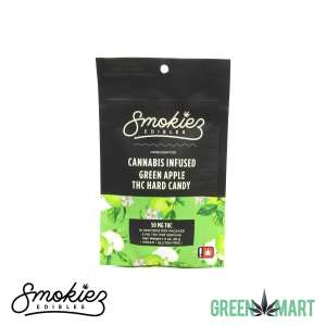 Smokiez Edibles THC Hard Candy - Apple Front