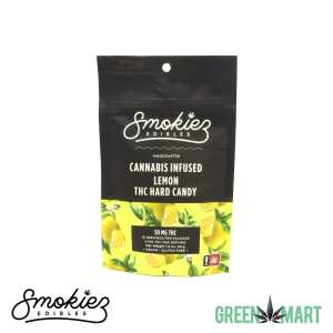 Smokiez Edibles THC Hard Candy - Lemon Front