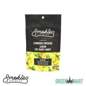 Smokiez Edibles THC Hard Candy - Lemon Front