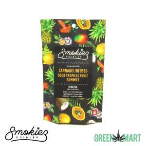 Smokiez Edibles THC Gummiez - Sour Tropical Fruit Front