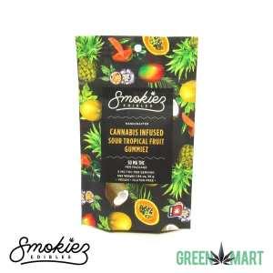 Smokiez Edibles THC Gummiez - Sour Tropical Fruit Front