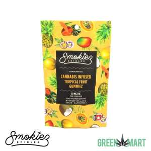 Smokiez Edibles THC Gummiez - Tropical Fruit Front