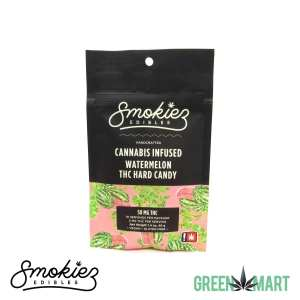Smokiez Edibles THC Hard Candy - Watermelon Front