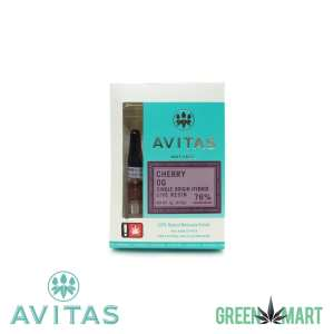 Avitas Live Resin Cartridges - Cherry OG