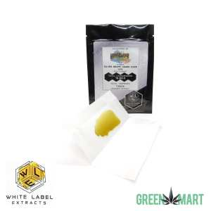 White Label Extracts - Silver Grape Lemon Haze Pull N Snap
