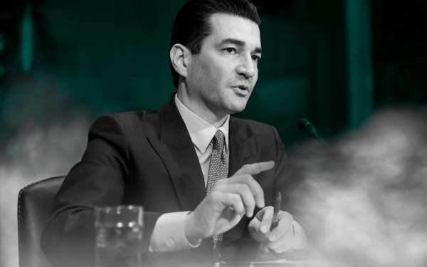 Former FDA head Scott Gottlieb called for legalization to solve the vape crisis, but Wall Street Journal editors blamed legalization for causing the crisis—over Gottlieb's own story. (AP Photo/J. Scott Applewhite, File)