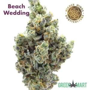 Beach Wedding by Higher Minds Horticulture