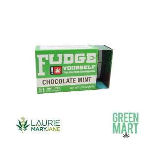 Laurie + MaryJane Chocolate Mint Fudge