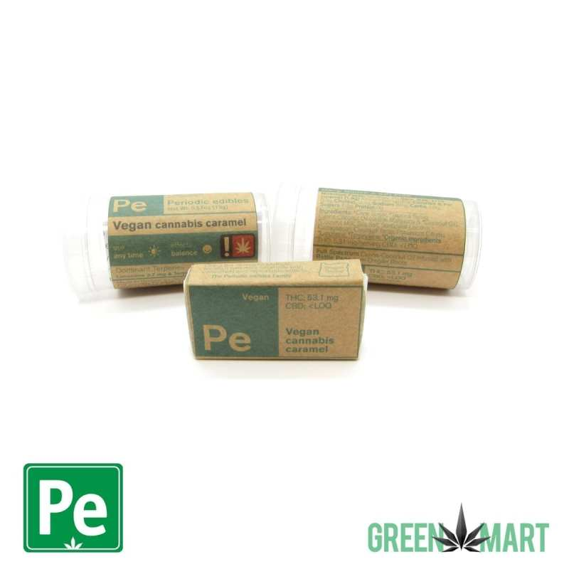 Periodic Edibles - Vegan Caramel