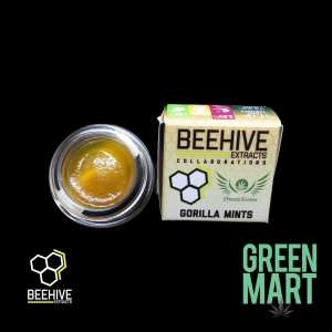 Beehive Extracts - Gorilla Mints Front