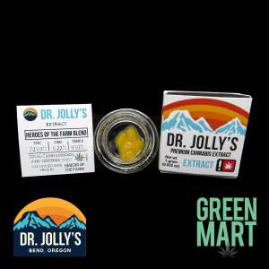 Dr. Jolly's Extracts - Heroes of the Farm Blend Front