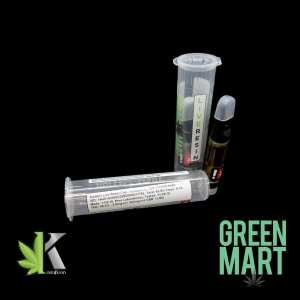 Green Mart Live Resin Cartridge - Kailash 1g