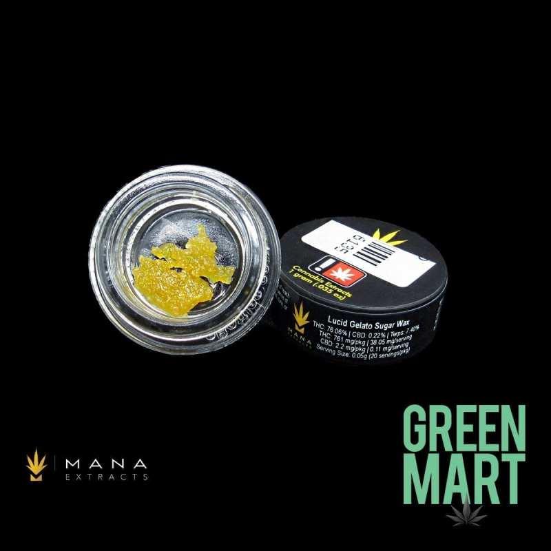 Mana Extracts - Lucid Gelato Sugar Wax