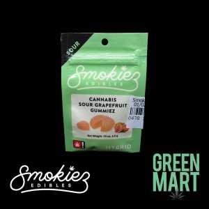 Smokiez Edibles - Sour Grapefruit Gummies Single Front
