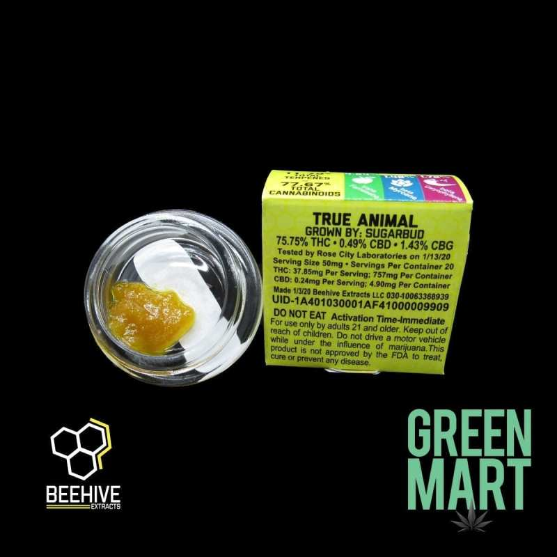 Beehive Extracts - True Animal Back