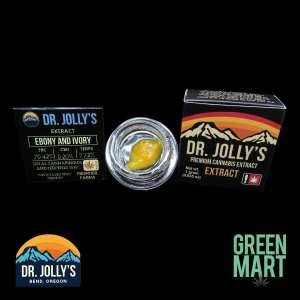 Dr. Jolly's Extracts - Ebony and Ivory Front