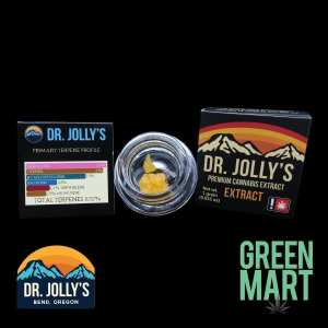 Dr. Jolly's Extracts - Jack Herer x Kimbo Kush Terps