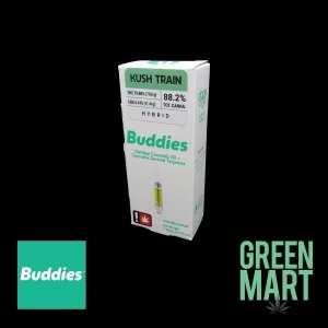 Buddies Distillate Cartridges - Kush Train 1g