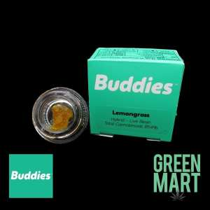 Buddies Brand Live Resin - Lemongrass Front