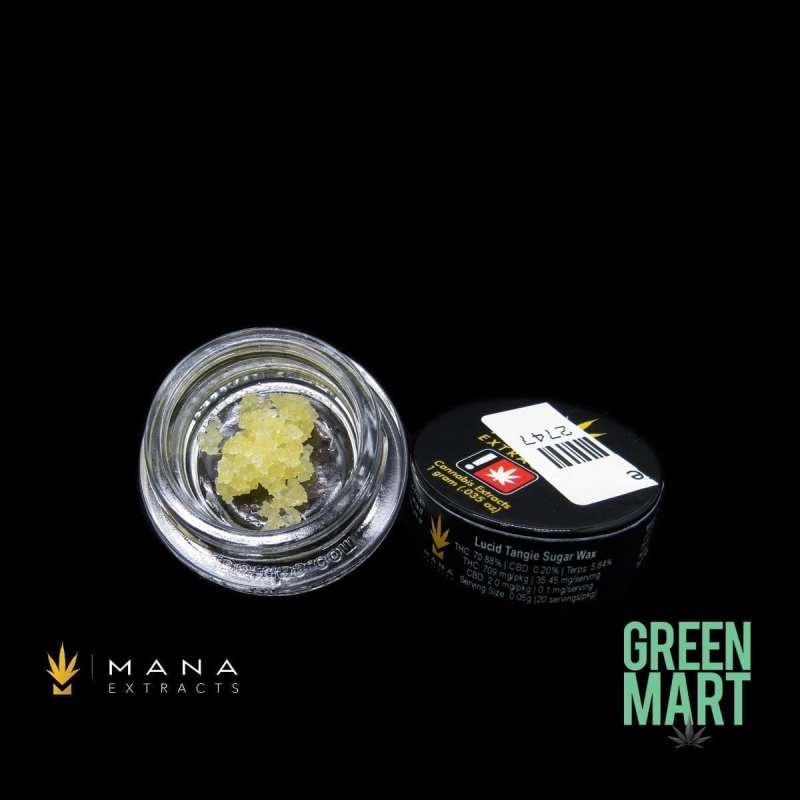Mana Extracts - Lucid Tangie Sugar Wax