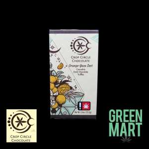 Crop Circle Chocolates - Orange Yuzu Zest 2pk Front