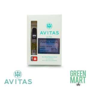 Avitas Ultra Distillate Cartridges - Purple Punch Indica