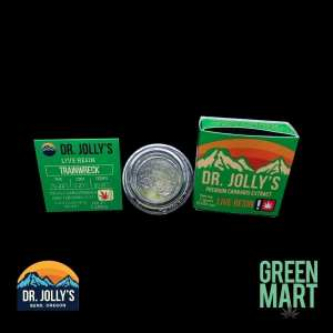 Dr. Jolly's Extracts - Trainwreck Front