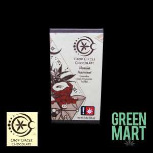 Crop Circle Chocolates - Vanilla Hazelnut 2pk Front