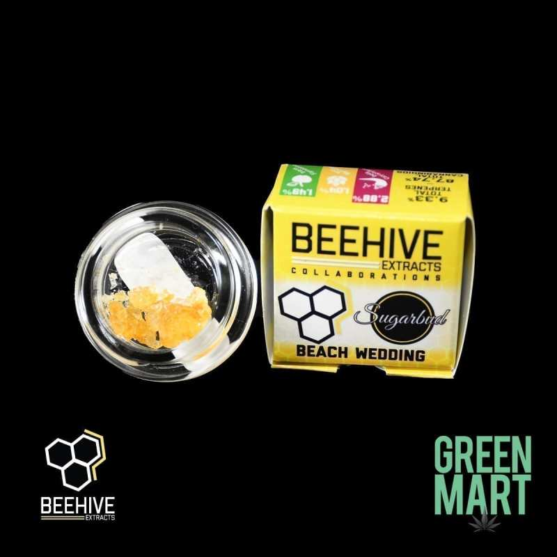 Beehive Extracts - Beack Wedding Diamonds Front