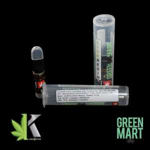 Green Mart Live Resin Cartridges - Crocketts Con Half G