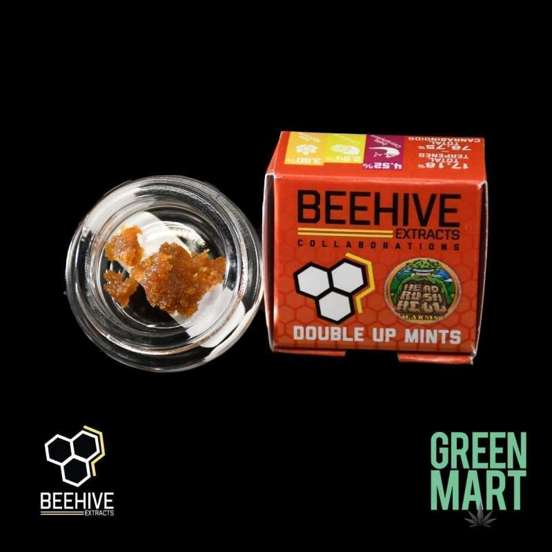 Beehive Extracts - Double Up Mints Front