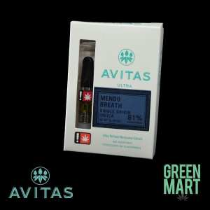 Avits Ultra Distillate Brand Cartridge - Mendo Breath Half G