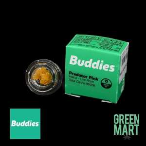 Buddies Brand Extracts - Predator Pink Live Resin Front