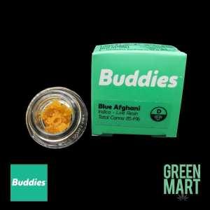 Buddies Brand Live Resin - Blue Afghani Front