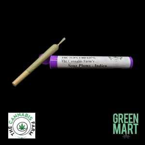 The Cannabis Farm 1g Pre-roll - Sour Plums