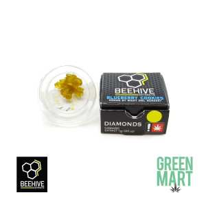 Beehive Extracts - Blueberry Cooks Diamonds Front