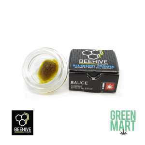 Beehive Extracts - Blueberry Cooks Sauce Front